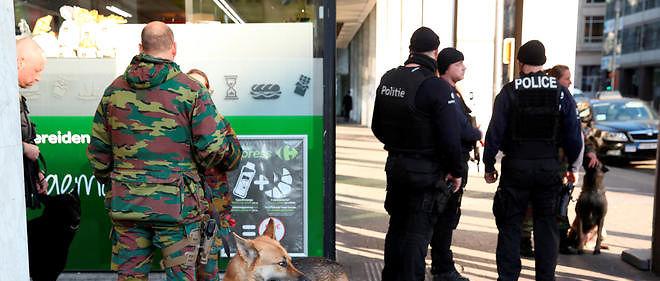 Une fausse alerte terroriste a été lancée à Bruxelles, mardi.