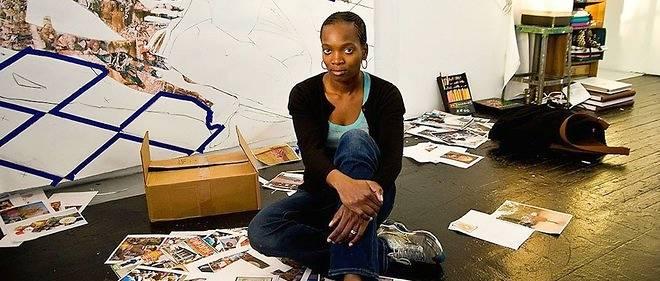 Njideka Akunyili Crosby, l'art de magnifier le papier