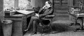 Charles Dickens par Samuel Hollyer