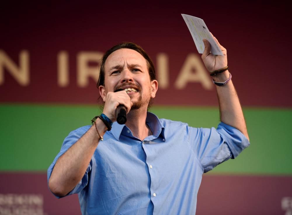 SPAIN-VOTE-CAMPAING-PODEMOS © ANDER GILLENEA