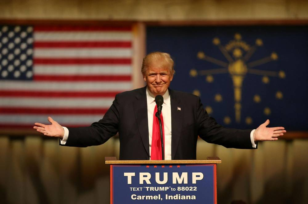 US-DONALD-TRUMP-CAMPAIGNS-IN-INDIANA-AHEAD-OF-STATE-PRIMARY © JOE RAEDLE