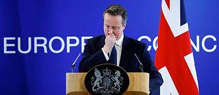 Le Premier ministre David Cameron s'est engagé dans une campagne contre le Brexit. Un grand écart idéologique... ©Ye Pingfan/XINHUA-REA
