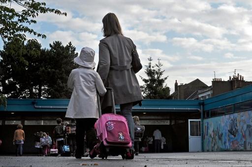 En Allemagne, plus du tiers des femmes qui ont fait des études supérieures restent sans enfant © PHILIPPE HUGUEN AFP/Archives