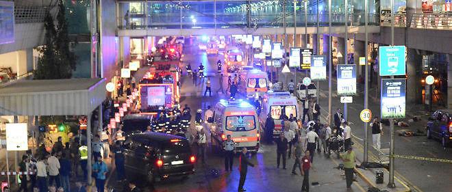 L'aéroport d'Istanbul a été pris pour cible.
