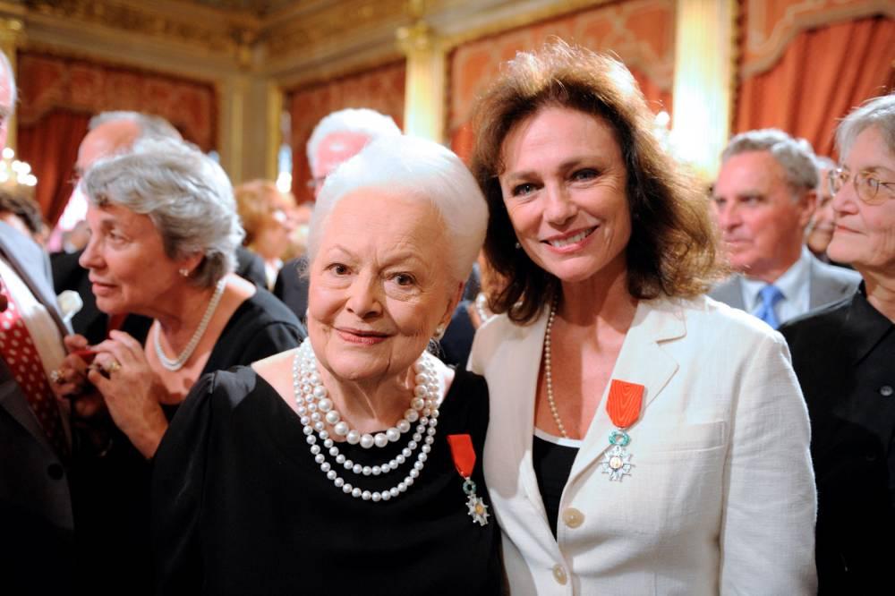 Olivia de Havilland fête ses 100 ans © ERIC FEFERBERG AFP
