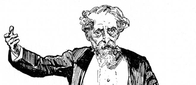 Charles Dickens (1812-1870)  ©Ann Ronan Picture Library