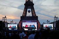 Un mouvement de panique a éclaté samedi 2 juillet dans la fan-zone du Champ-de-Mars, probablement à cause de l'explosion de pétards (photo d'illustration). ©Stephane Mahe