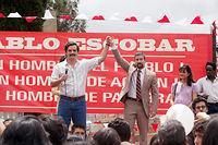 La série Narcos revient sur la vie del'ancien baron de la drogue Pablo Escobar.