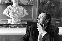 Michel rocard, en juin 1986, à Riom (Puy-de-Dôme). Il avait démissionné l'année précédente du gouvernement pour protester contre le choix de la proportionnelle aux législatives. En 1986, le FN fait son entrée à l'Assemblée. ©Abbas/Magnum Photos