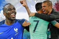 La France et le Portugal, les deux finalistes de l'Euro 2016, ne sont pas les équipes les plus séduisantes de ce tournoi. ©Robert Pratta (Reuters) - Mustapha Yalcin (AFP)