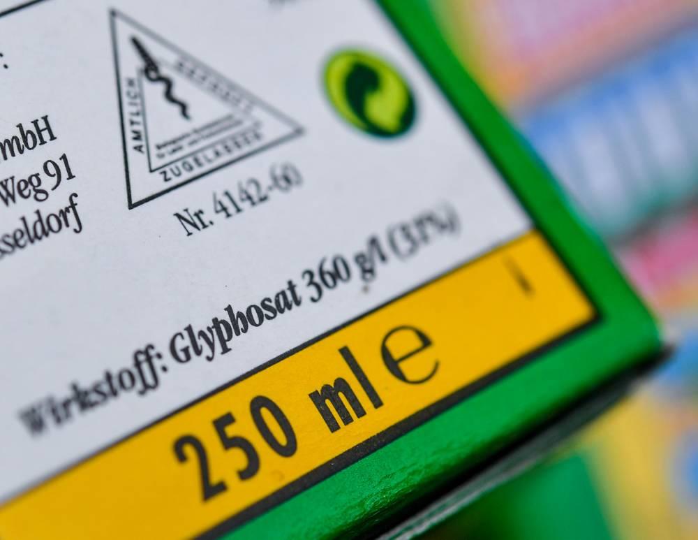 Herbicide glyphosate © PATRICK PLEUL DPA/AFP