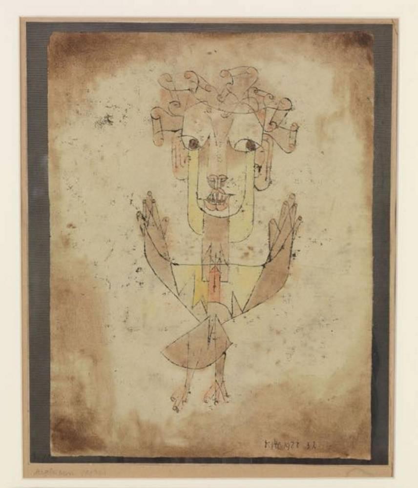 Angelus Novus de Paul Klee. © Elie Posner