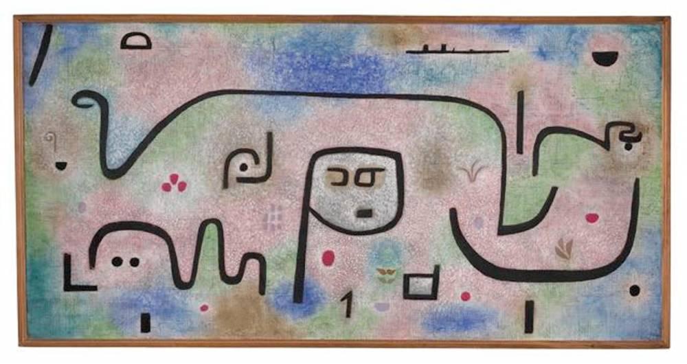 Insula Dulcamara de Paul Klee © ABMT, Uni Basel, 2005