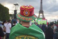 Des milliers de fans originaires de toute l'Europe seront venus dans l'Hexagone pour assister à l'Euro. ©GEOFFROY VAN DER HASSELT