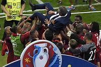 Le Portugal remporte son premier Euro, en dominant la France 1-0. ©MIGUEL MEDINA