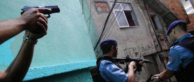 Photographie tirée du rapport de Human Rights Watch. Pour l'écrire, l'ONG a interviewé 88 personnes, dont 34 policiers.