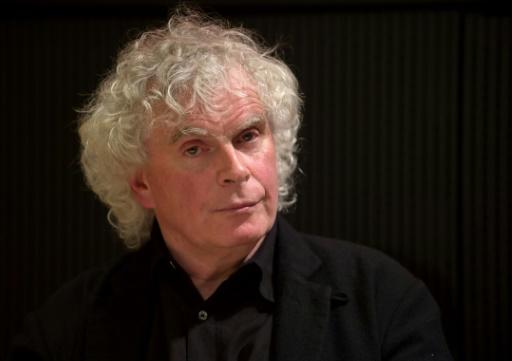 Certains comentateurs craignent que le projet de nouvelle salle de concert pour accueillir le chef d'orchestre britannique Simon Rattle soit suspendu en raison d'un manque d'investissements post-Brexit © TIM BRAKEMEIER DPA/AFP/Archives