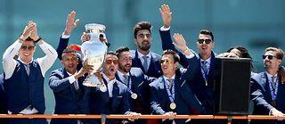 C'est la première fois de son histoire que le Portugal remporte la Coupe d'Europe. ©PATRICIA DE MELO MOREIRA