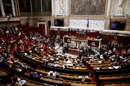 L'Assemblée nationale lors d'une séance à Paris le 29 juin 2016 © Thomas SAMSON AFP/Archives