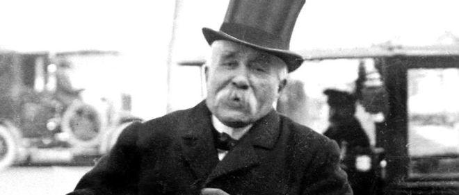 Fauve. Georges Clemenceau, l'orateur le plus cinglant de la IIIe République.