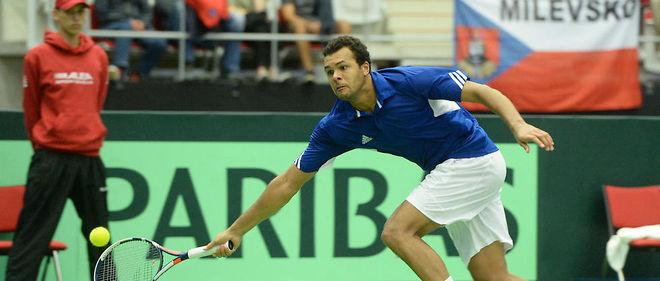 La France s'est qualifiée pour les demi-finales de la Coupe Davis.