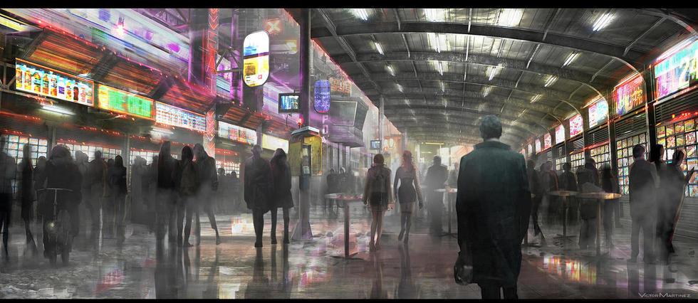 Concept art de la suite de Blade Runner