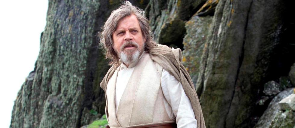 Luke Skywalker à la fin du Réveil de la Force