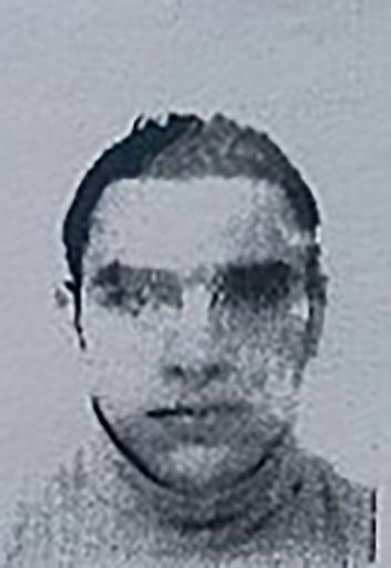 Reproduction de la photo du permis de séjour de Mohamed Lahouaiej-Bouhlel, fournie le 15 juillet 2016 par la police © - FRENCH POLICE SOURCE/AFP