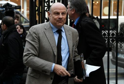Le secrétaire d'État aux Relations avec le Parlement, Jean-Marie Le Guen le 7 mars 2016 à Paris © DOMINIQUE FAGET AFP/Archives