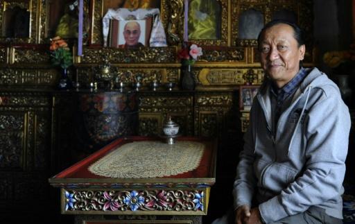 L'ancien prince Jigme Singi Palbar Bista, à Lo Manthang, le 18 juin 2016 © PRAKASH MATHEMA AFP/Archives