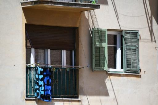 L'appartement de Mohamed Lahouaiej-Bouhlel dans une cité du nord de Nice, le 15 juillet 2016 © ANNE-CHRISTINE POUJOULAT AFP