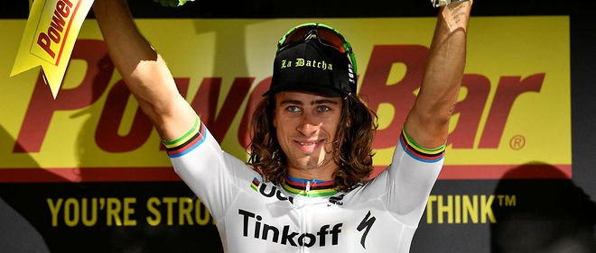Le Slovaque Peter Sagan.