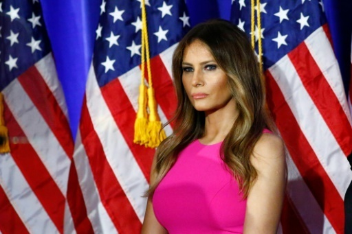 Melania Trump, femme de Donald Trump, au Briarcliff Manor, a New York, le 7 juin 2016