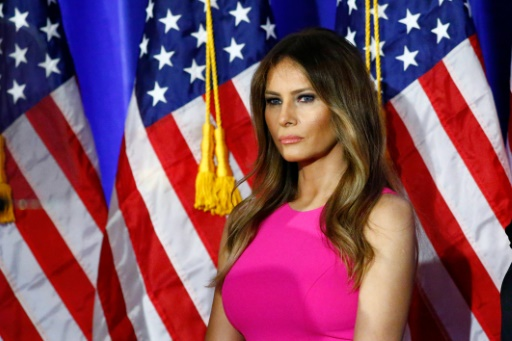 Melania Trump, femme de Donald Trump, au Briarcliff Manor, à New York, le 7 juin 2016 © KENA BETANCUR AFP/Archives