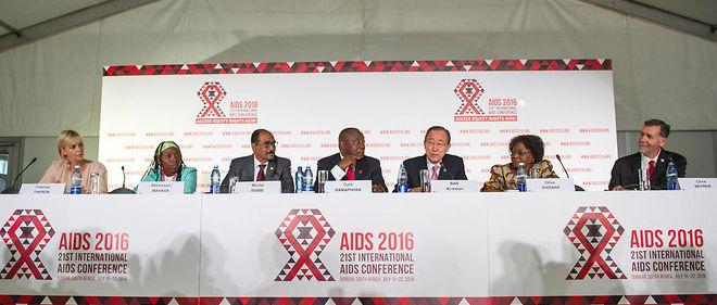 Ouverture de la conférence internationale sur le sida à Durban