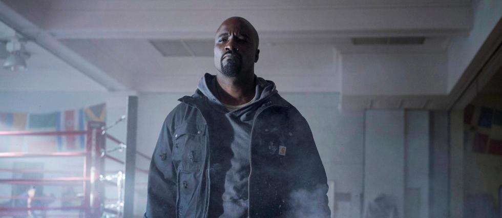 Luke Cage héros de la prochaine série Marvel diffusée sur Netflix.