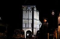 L'église de Saint-Étienne-du-Rouvray, attaquée dans la matinée du mardi 26 juillet par deux djihadistes. ©CHARLY TRIBALLEAU