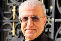 Mgr Yousif Thomas Mirkis, prélat irakien de l'Église catholique chaldéenne, archevêque de Kirkouk (Irak). ©P. Razzo/CIRIC