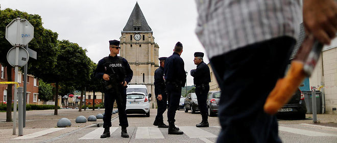 Le prêtre Jacques Hamel a été tué après une attaque terroriste. Image d'illustration.