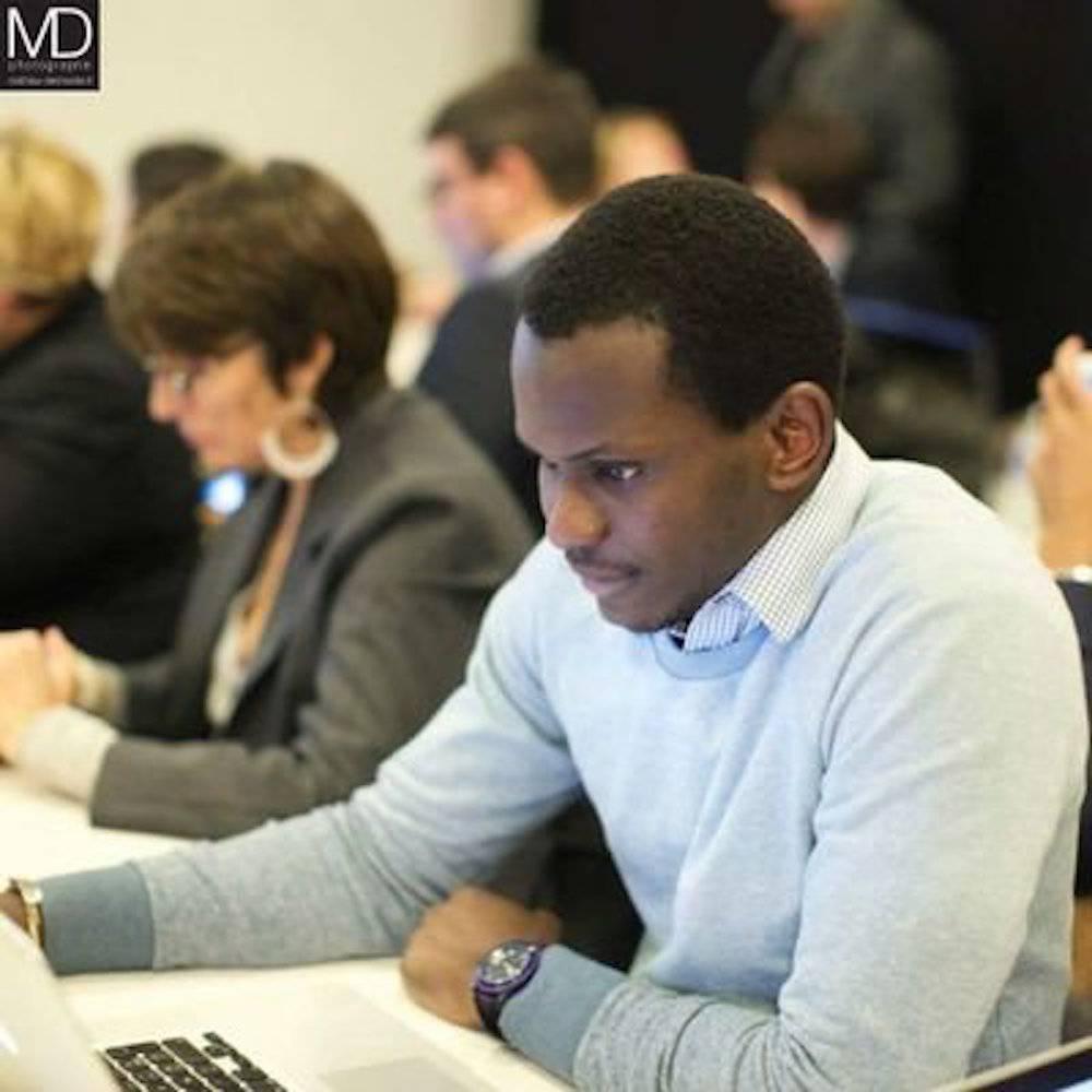 Amadou Dieng, expert digital. ©  DR