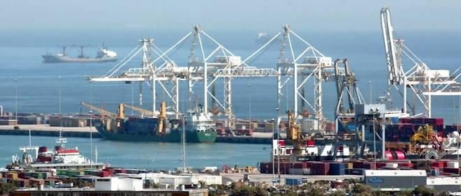 Port du Cap, en Afrique du Sud.