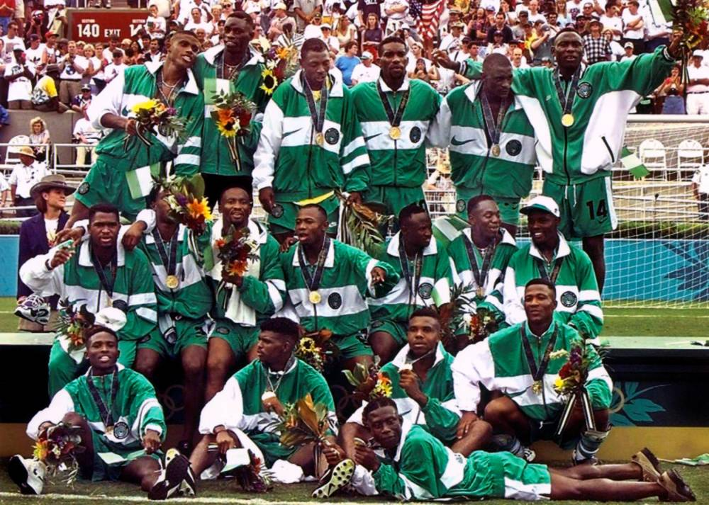 NIGERIA, ATLANTA © PASCAL GEORGE AFP
