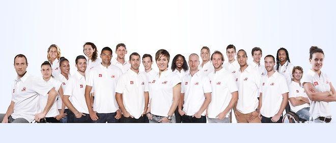 """Parmi les athlètes de la """"team Caisse d'épargne"""", ils sont 11 à participer à Rio, dont Omeyer, Batum ou encore Dumerc."""