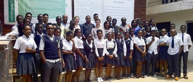 Des élèves du réseau Enko Education en Afrique du Sud.