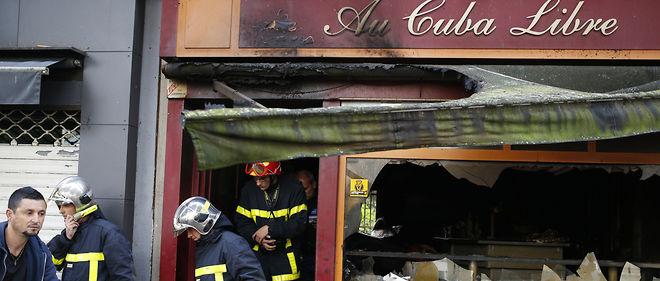 """Un incendie """"probablement accidentel"""" a fait 13 morts dans un bar de Rouen dans la nuit du samedi 6 août 2016."""