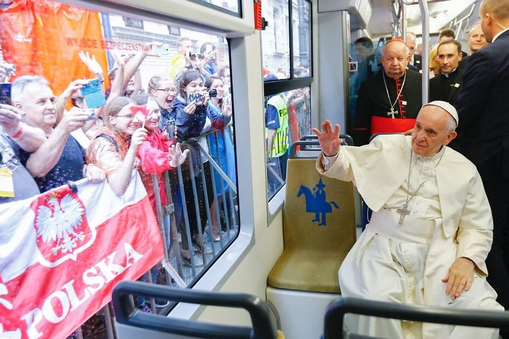 Transport papal