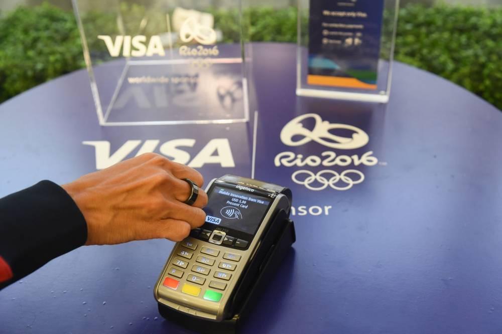 Visa Payment Innovation Showcase with Ibtihaj Muhammad © Charles Sykes DR / Visa