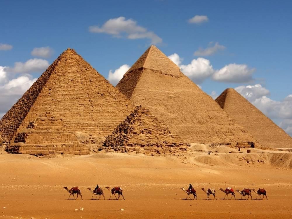 Les Pyramides de Gizeh en Égypte.  ©  DR