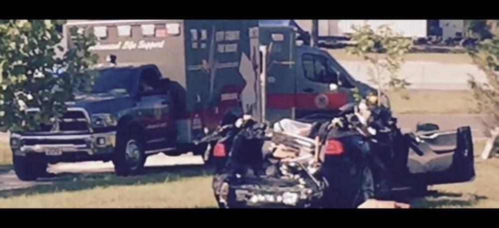 Crash Tesla Floride ©  capture d'écran ABC