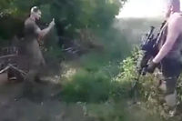 Plusieurs soldats ukrainiens ont été filmés en train de jouer à Pokémon Go en pleine zone de combat. ©lepoint.fr